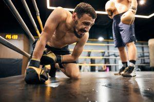 Sport da combattimento contusione