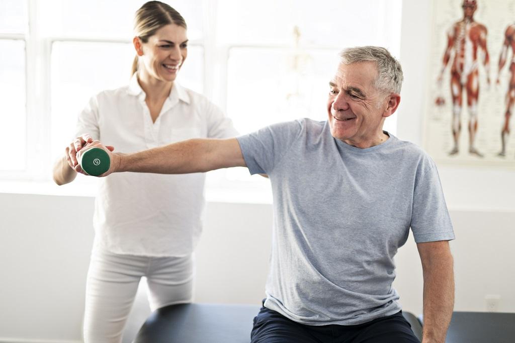 riabilitazione spalla